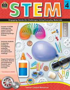STEM: Engaging Hands-On Challenges Using Everyday Materials (Gr. 4)