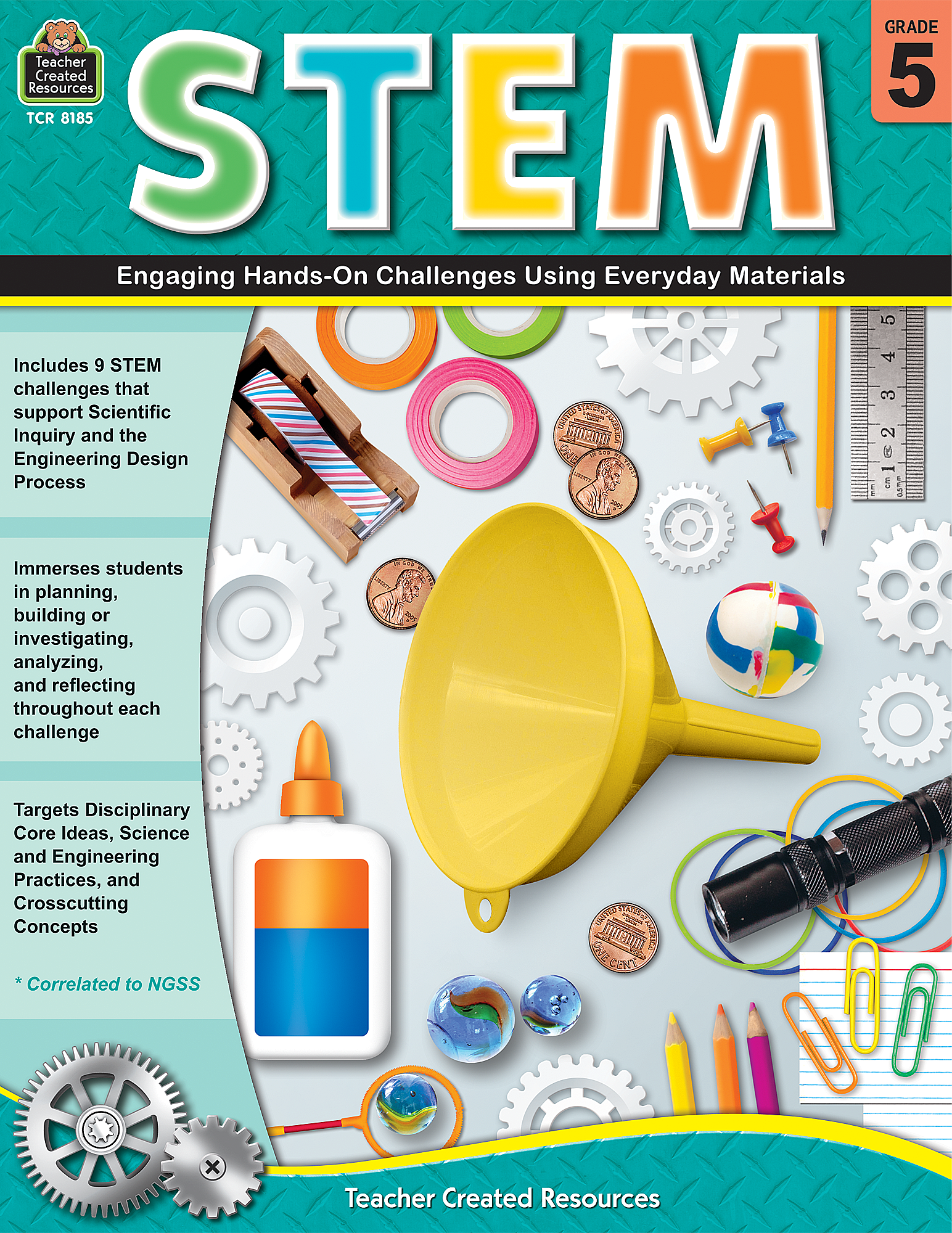 STEM: Engaging Hands-On Challenges Using Everyday Materials (Gr. 5)