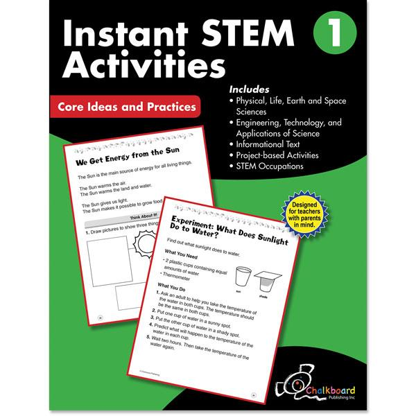 STEM GRADE 1 CHALKBOARD WORKBOOK