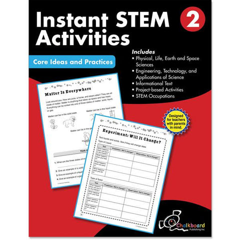 STEM GRADE 2 CHALKBOARD WORKBOOK