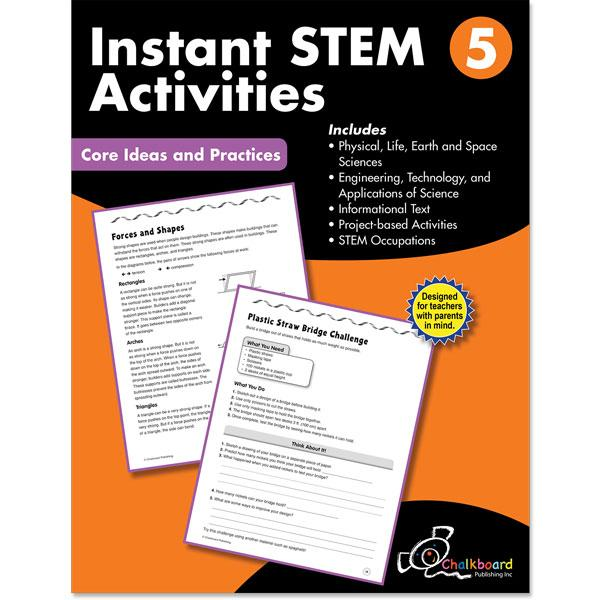 STEM GRADE 5 CHALKBOARD WORKBOOK