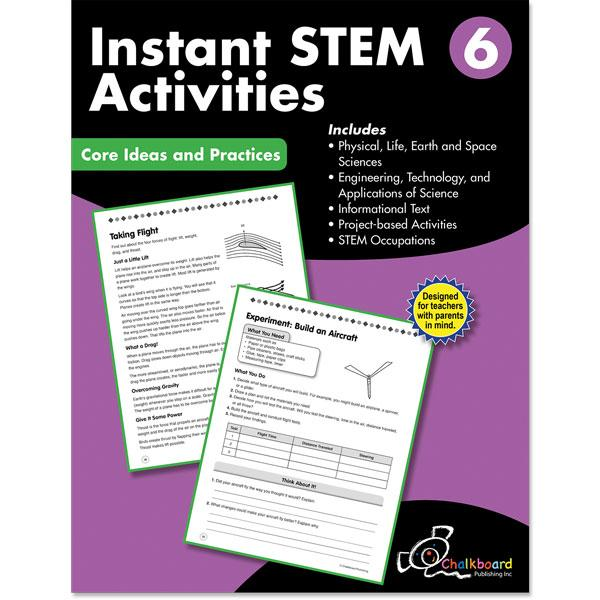 STEM GRADE 6 CHALKBOARD WORKBOOK