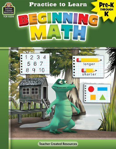 Practice to Learn: Beginning Math (PreK_K)