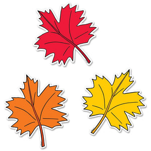 "FALL LEAVES 6"" DESIGNER CUT-OUTS"