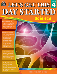 Let's Get This Day Started: Science (Gr. 4)