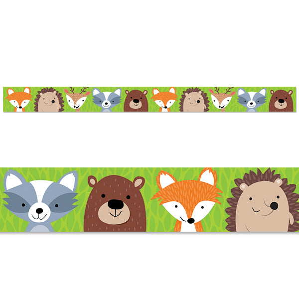 Woodland Friends Border