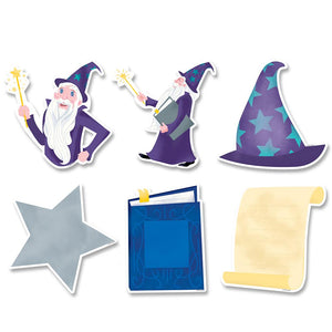 "Mystical Magical Wizardly Fun 6"" Designer Cut-Outs"