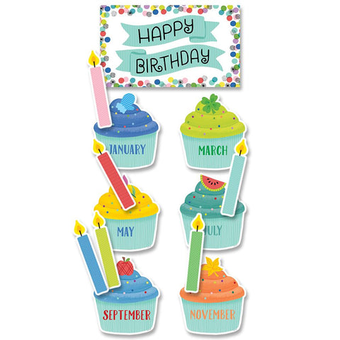 COLOR POP BIRTHDAY MINI-BULLETIN BOARDS