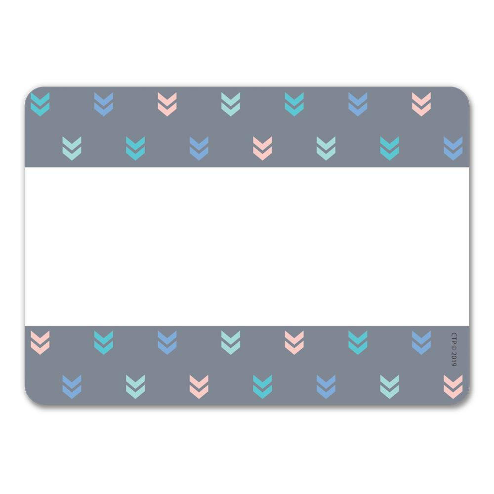 COLORFUL MINI CHEVRONS LABELS (CC)