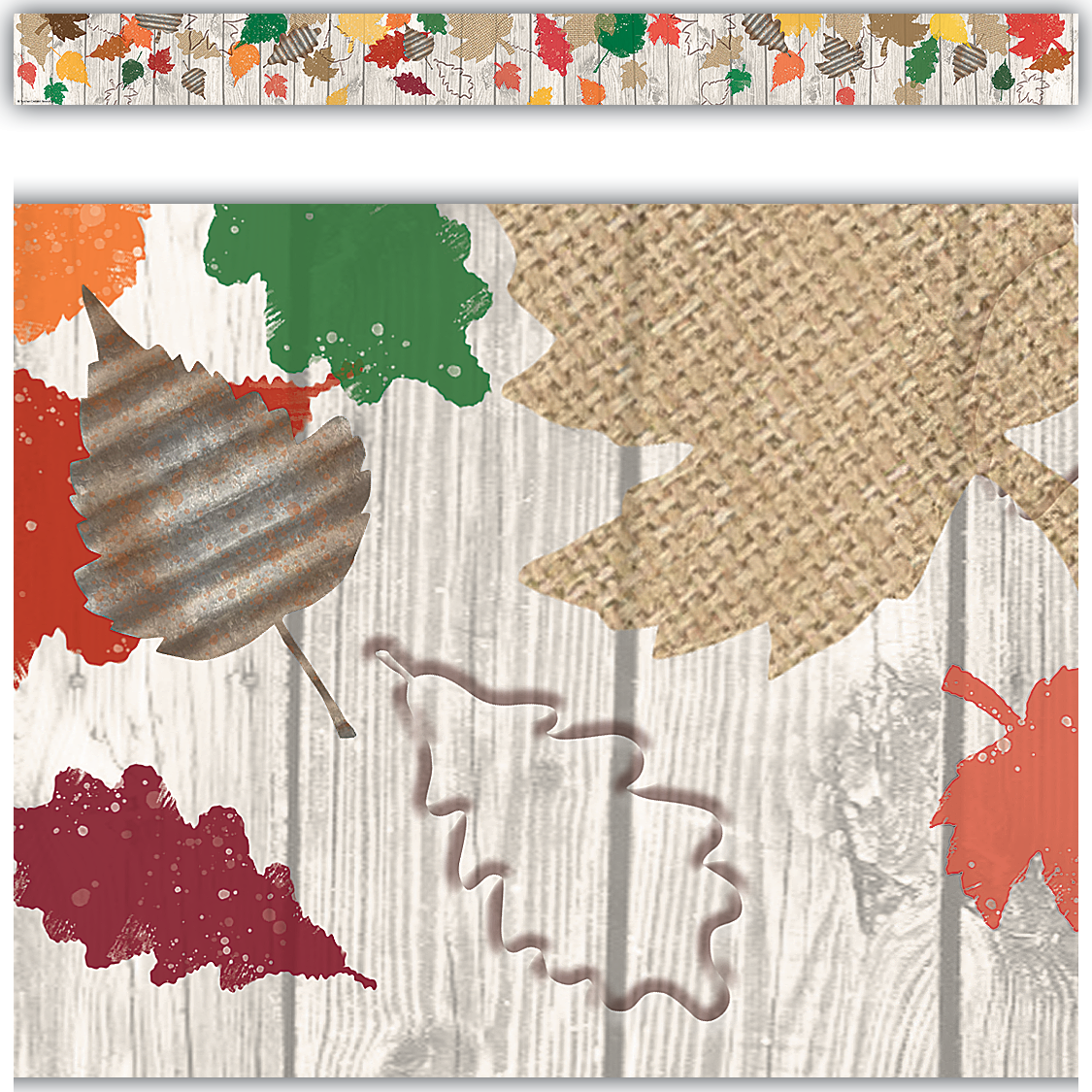 Home Sweet Classroom Happy Fall Straight Border Trim