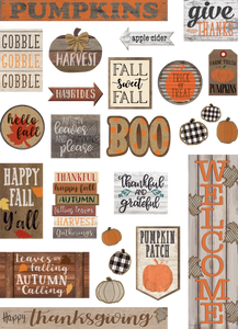 Home Sweet Classroom Happy Fall Mini Bulletin Boardæ