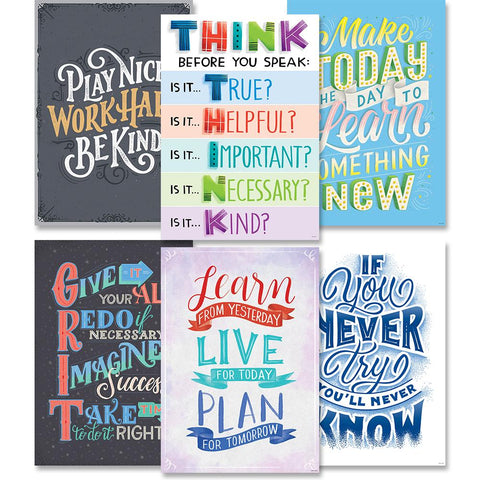 MOTIVATIONAL INSPIRE U 6-POSTER PACK