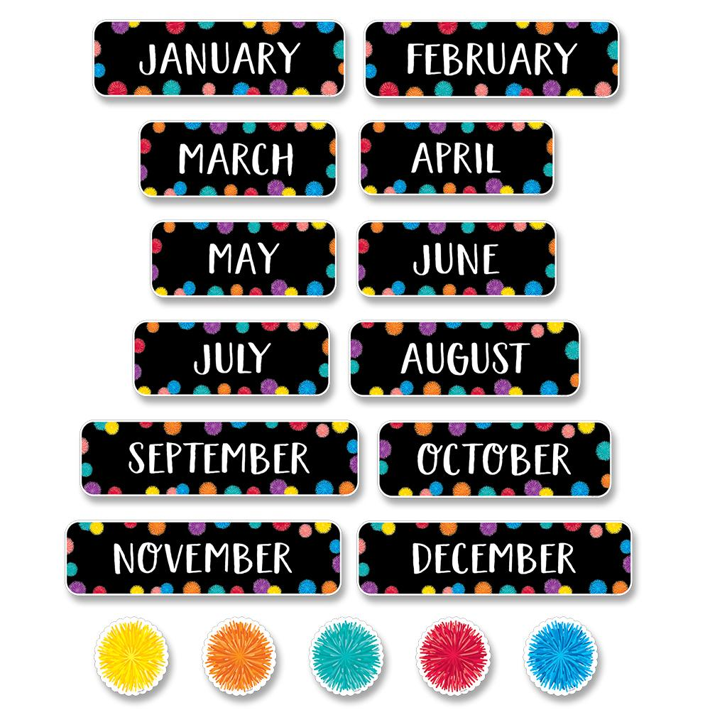 POM MONTHS OF THE YEAR  MINI-BULLETIN BOARD