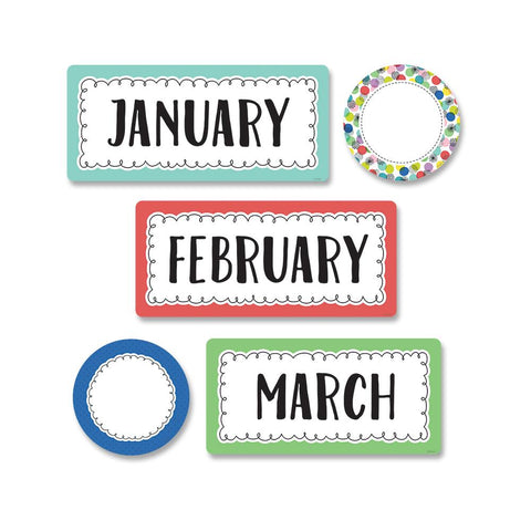COLOR POP MONTHS OF THE YEAR MINI-BULLETIN BOARD