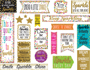Confetti Sparkle and Shine Mini Bulletin Board