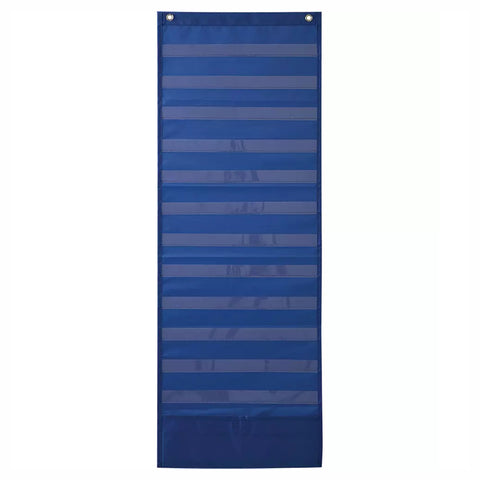 Deluxe Scheduling Pocket Chart, Blue