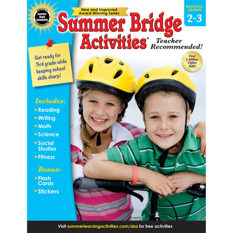 Summer Bridge Activities®, Grades 2-3