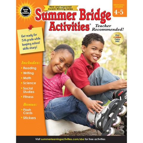 Summer Bridge Activities®, Grades 4-5