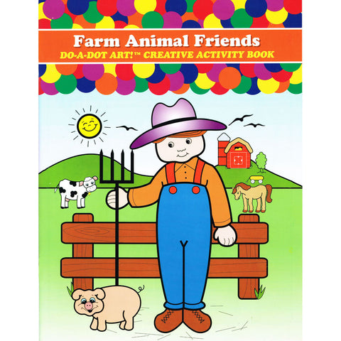 FARM ANIMALS ACTIVITY BOOK
