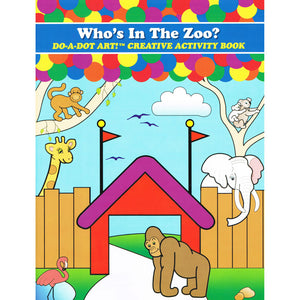 ZOO ANIMALS ACTIVITY BOOK