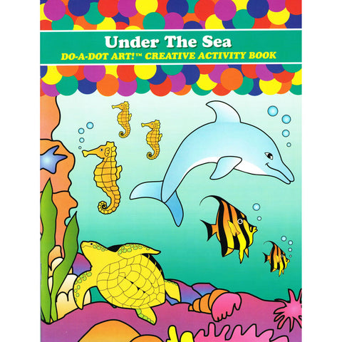SEA ANIMALS ACTIVITY BOOK