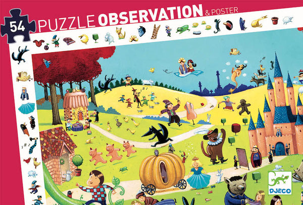 Tales Observation Puzzle