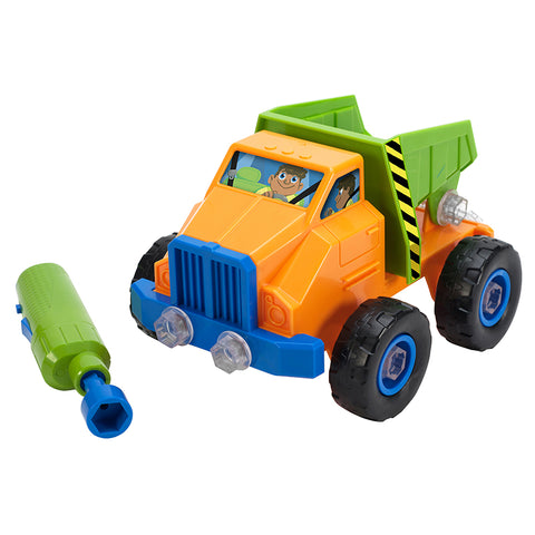 DESIGN PWR PLAY VEHICLE DUMP TRUCK