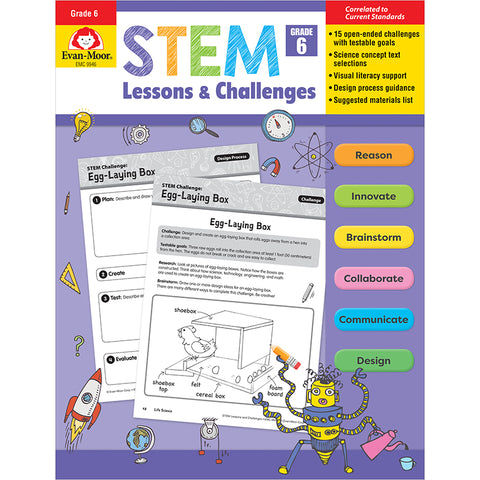 STEM Lessons & Challenges, Grade 6