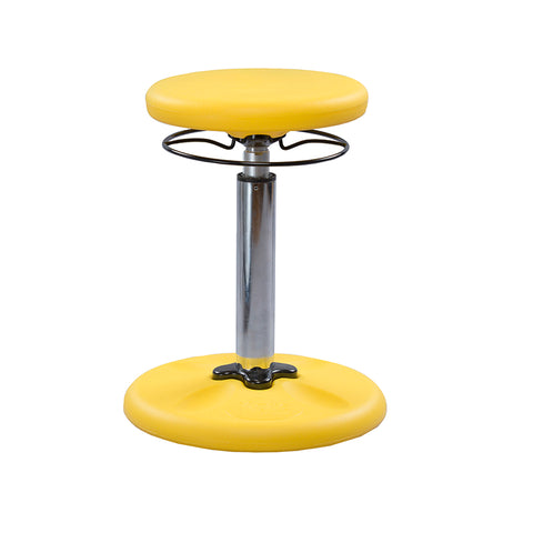 YELLOW GROW WITH ME WOBBLE CHAIR