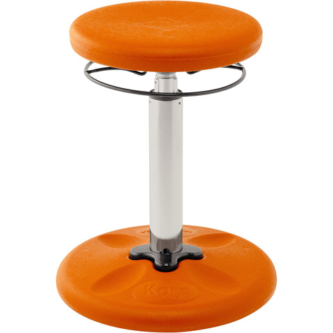 KIDS ADJUSTABLE WOBBLE CHAIR ORANGE