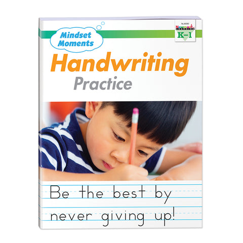 Mindset Moments Handwriting Practice, Grades K-1