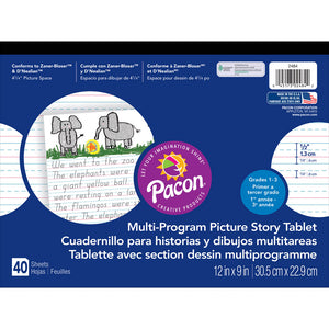PICTURE STORY PAPER 40 SHT 12X9 1/2