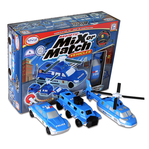 Magnetic Mix or Match® Vehicles, Police