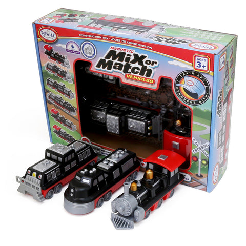 Magnetic Mix or Match® Vehicles, Train
