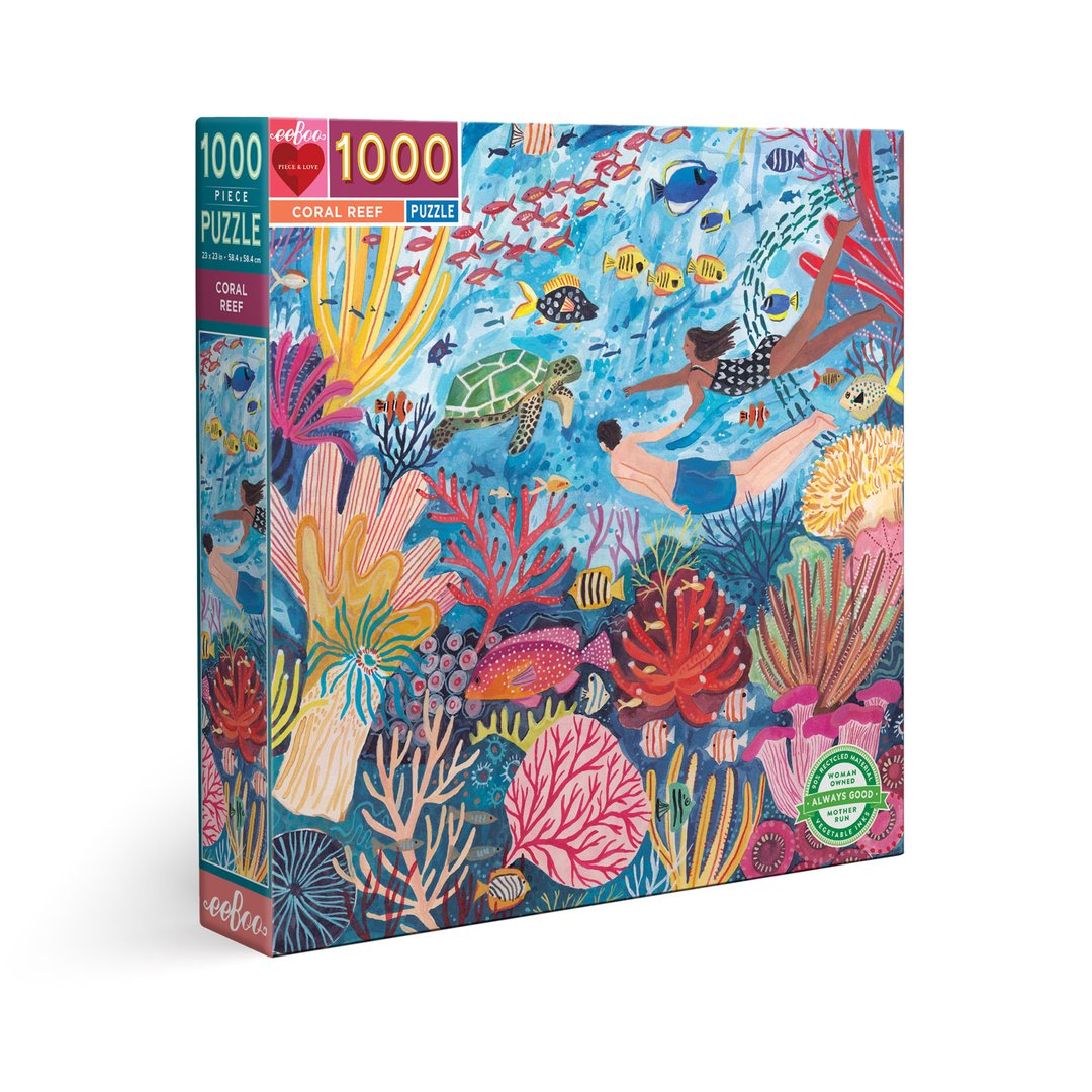 Coral Reef 1000pc Puzzle