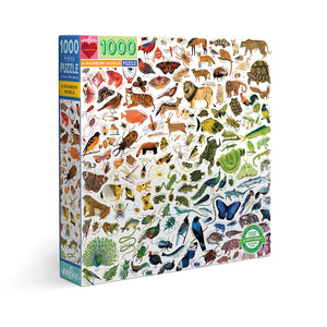 Rainbow World 1000pc Puzzle