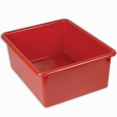 "5"" Stowaway® Letter Tray, Red"