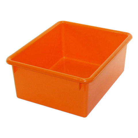 "5"" Stowaway® Letter Tray, Orange"
