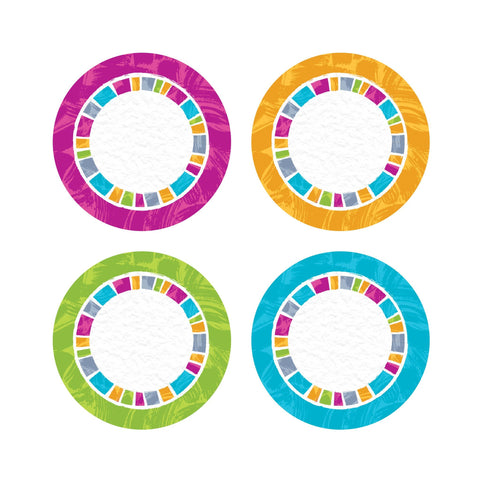 Color Harmony Circles Cut Outs & Accents