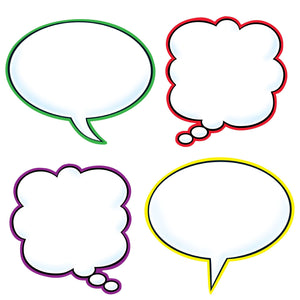 Speech Balloons Cut Outs & Accents