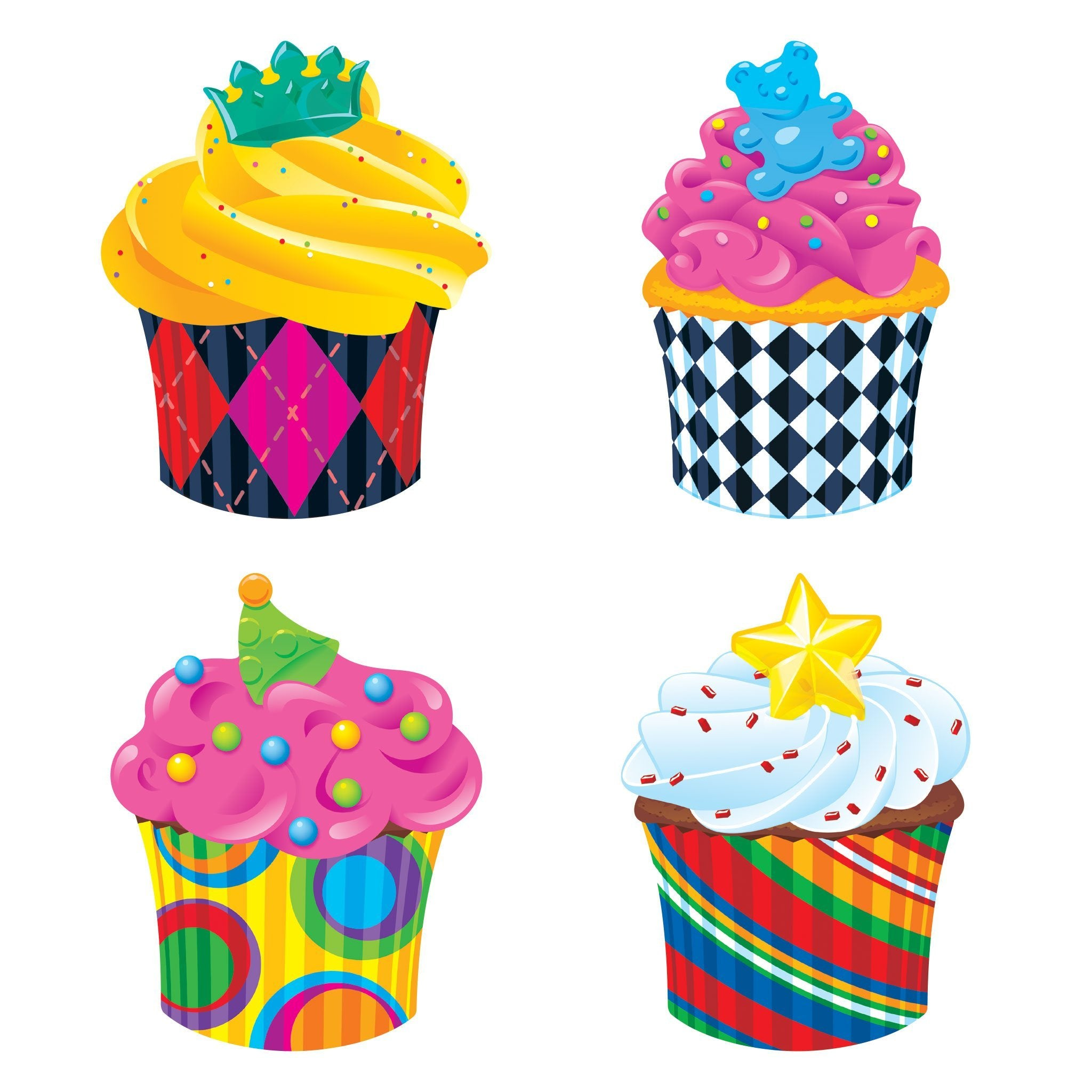 Cupcakes The Bake Shop™ Cut Outs & Accents
