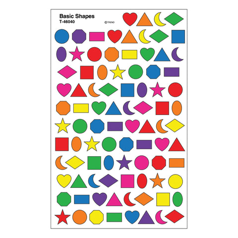 Basic Shapes Stickers