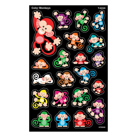 Color Monkeys Stickers