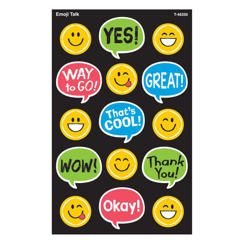 Emoji Talk Stickers - Large