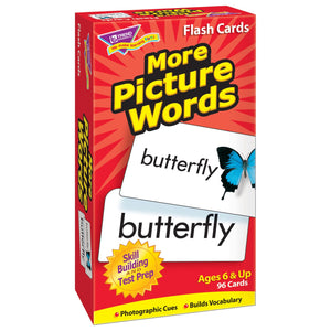 More Picture Words Skill Drill Flash Cards