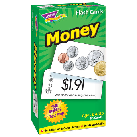 Money Skill Drill Flash Cards