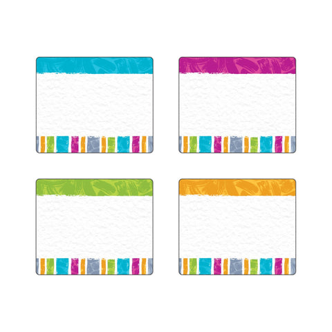 Color Harmony Stripes Terrific Labels™ Variety Pack