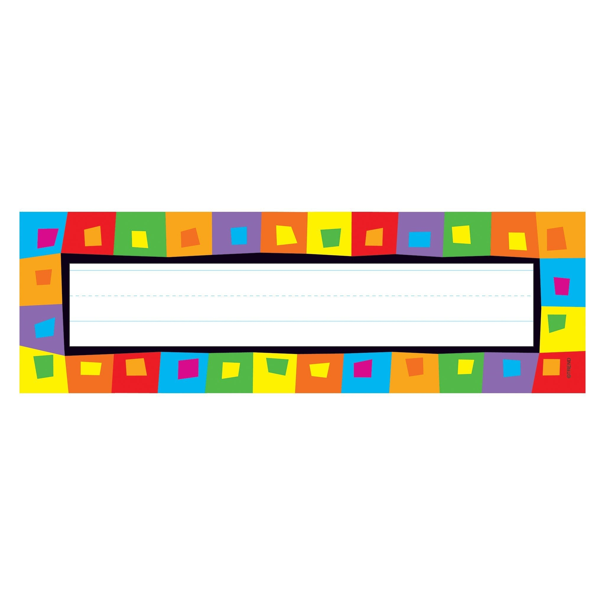 Silly Squares Desk Toppers® Name Plates