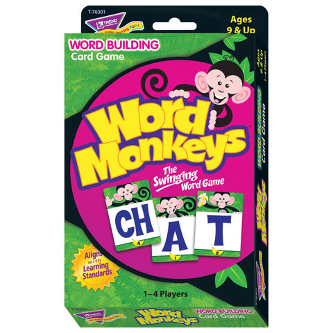 Word Monkeys Learning Game