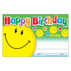 Happy Birthday Smile Rewards & Incentives